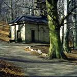 Kalwaria wejherowska - Podejście do Kaplicy Grobu Chrystusa