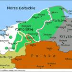 Przybliżony zasięg kaszubszczyzny około 1370 r. | wg: J.Mitkowskiego i W. Buchholza | Mapa oparta na pracy prof. dr. hab. Józefa Borzyszkowskiego