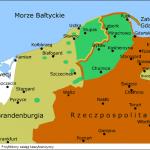 Przybliżony zasięg kaszubszczyzny około 1660 r.